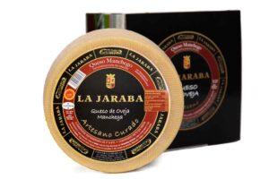 queso manchego artesano curado la jaraba