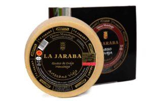 queso manchego artesano viejo la jaraba