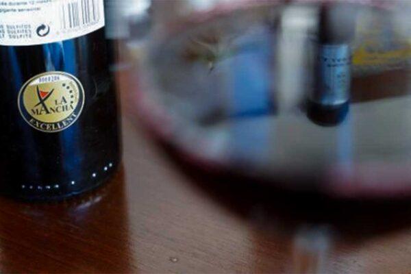 La Mancha excellent botella de Pago de La Jaraba tinto 2018