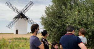 visitantes de agroturismo y enoturismo en pago de la jaraba